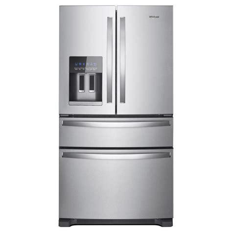 Shop Whirlpool 245cu Ft 4door French Door Refrigerator