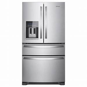 Shop Whirlpool 24.5-cu ft 4-Door French Door Refrigerator ...