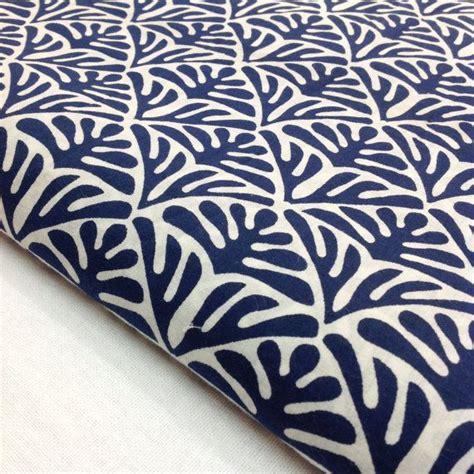 print on fabrics block print fabric indian organic cotton indigo and white fabric