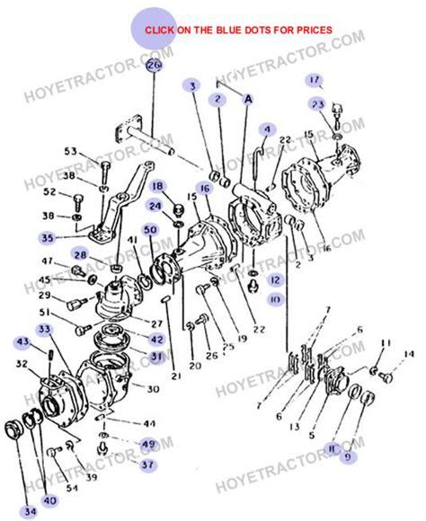 External Yanmar Tractor Parts