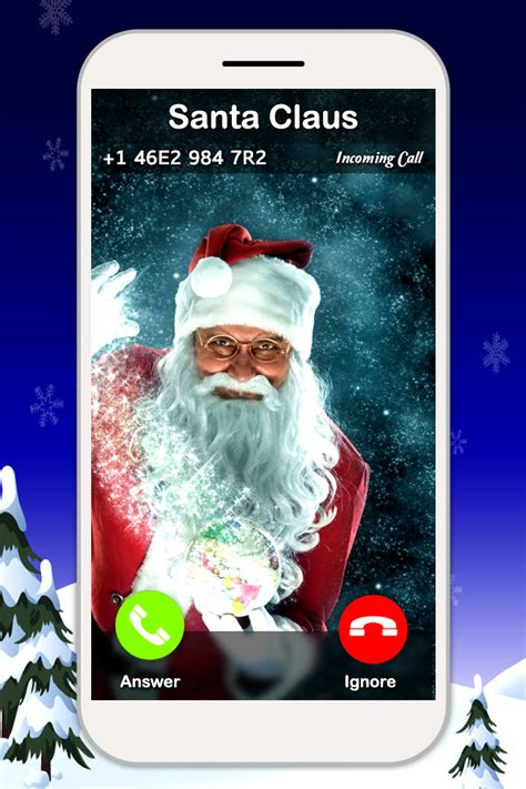 santa claus fake call prank 1mobile com