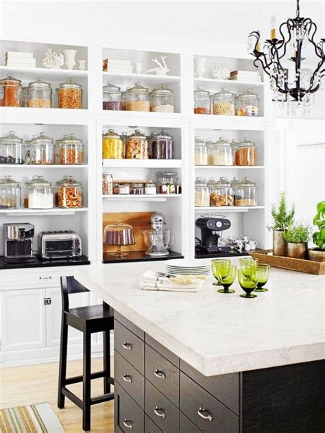 26 Kitchen Open Shelves Ideas  Decoholic. Kitchen Cabinet With Drawers. California Pizza Kitchen Leawood. Hutch For Kitchen. Franke Kitchen Systems