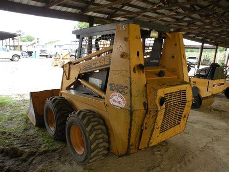 case  skid steer loader jm wood auction company