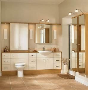 Sol Bois Salle De Bain : salle de bain beige bois ~ Premium-room.com Idées de Décoration
