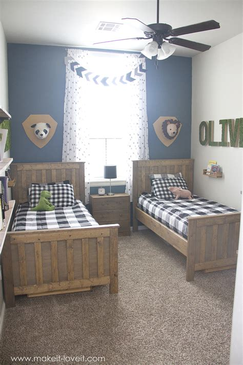 Ideas For A Shared Boys Bedroom (yay, All Done