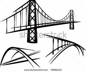 simple bridge clipart clipart suggest With truss bridges