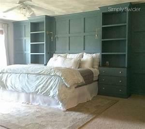 DIY Master Bedroom Built-ins Hometalk