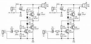 Audio Amplifier With Common Transistors  U00b7 One Transistor