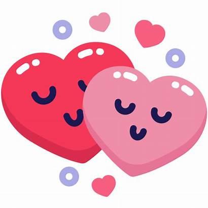 Heart Icon Emoji Couple Emo Valentine Icons