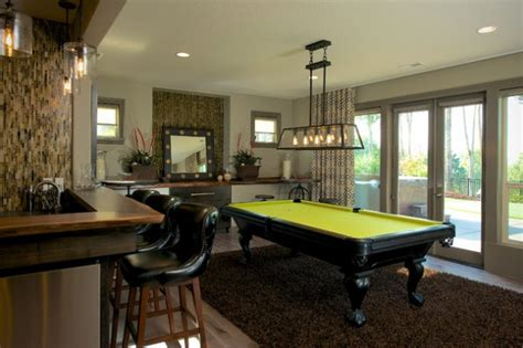 classy  charming  game room designs  pool table