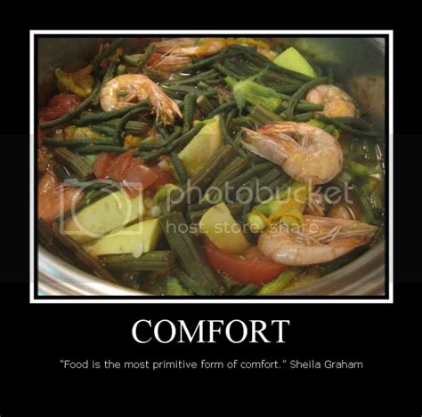 food quote comfort cooked   heart