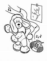 Coloring Dance Pages Poodle Dog Funny Tap Hop Hip Dancing Learn Printable Getcolorings Frame sketch template