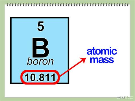 Boron Protons by How To Find The Number Of Protons Neutrons And Electrons