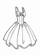 Coloring Printable Barbie Princess Dresses Gown Ball Drawings Educative Educativeprintable Clothes sketch template