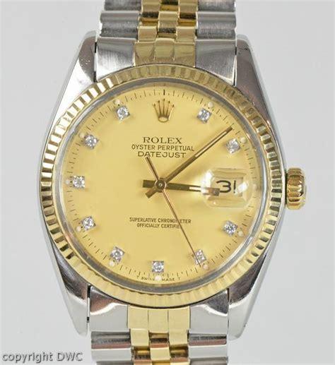 uhren herren gold armbanduhr herren rolex datejust stahl gold automatik uhren uhr brillanten 16013 ebay