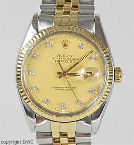Uhr Rolex Herren : wristwatch mens rolex datejust steel gold automatic ~ Kayakingforconservation.com Haus und Dekorationen