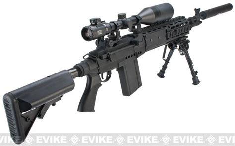 evike class i custom m14 ebr airsoft aeg rifle package inspired by battlefield 4 airsoft guns