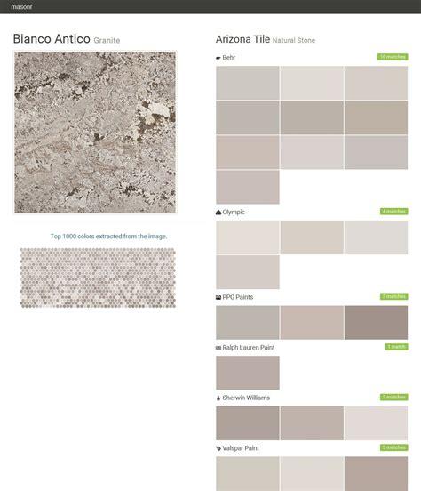 bianco antico granite natural stone arizona tile behr olympic ppg paints ralph