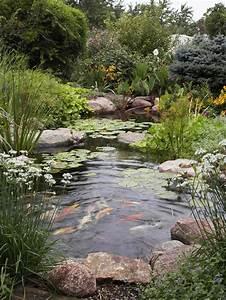 Garten Mit Teich : 1001 ideen und gartenteich bilder f r ihren traumgarten ~ Buech-reservation.com Haus und Dekorationen