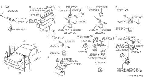 nissan pickup parts diagram downloaddescargar com
