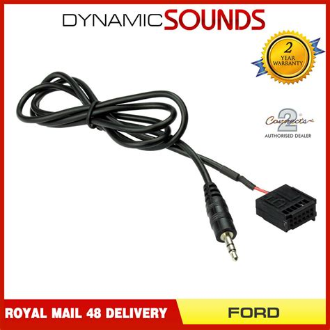 ford focus mk2 c max s max 6000 cd aux in cable for mp3 ipod iphone ebay