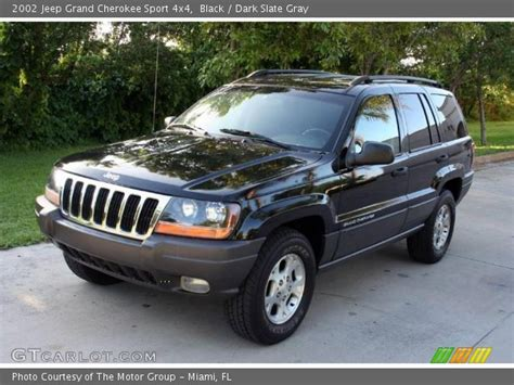 jeep cherokee sport 2002 black 2002 jeep grand cherokee sport 4x4 dark slate