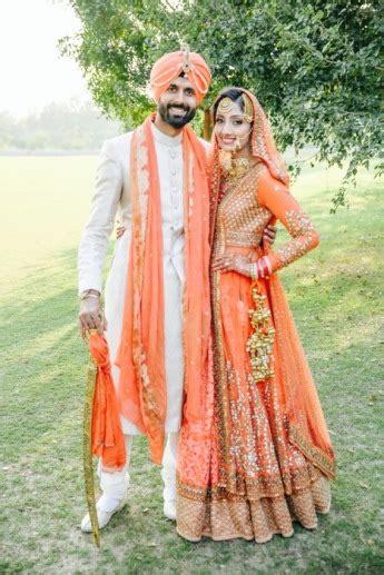 gorgeous wedding  chandigarh  tons  style