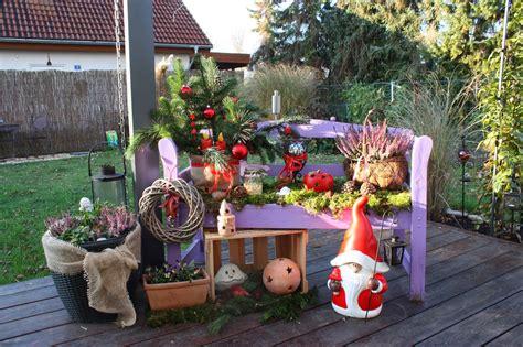 Weihnachtsdeko Für Den Gartentisch by Atelier Inez Eckenbach Kunst Und Deko F 252 R Haus Und
