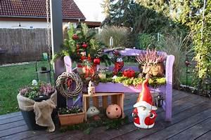 Garten Weihnachtlich Dekorieren : atelier inez eckenbach kunst und deko f r haus und ~ Michelbontemps.com Haus und Dekorationen