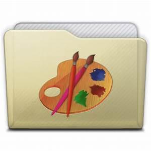 Beige Folder Art Icon - LeopAqua R3 Icons - SoftIcons.com