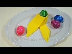 Servietten Falten Ostern Tischdeko : servietten falten ostern osterdeko basteln tischdeko ostern selber machen youtube ~ Eleganceandgraceweddings.com Haus und Dekorationen
