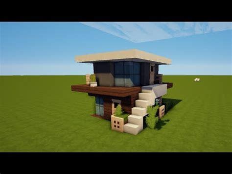 Kleines Haus Bauen by 7x8 Kleines Modernes Minecraft Haus Bauen Tutorial Haus