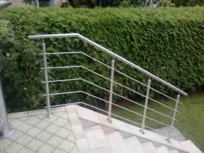 treppe handlauf holz edelstahlgeländer mit waagrechten sprossen edelstahlgelander at