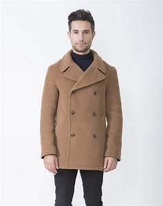 scott london tradition With camel pea coat mens