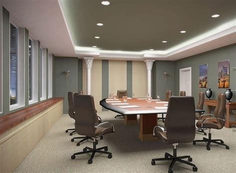 cad design services conference meeting room rendering