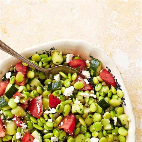 middle eastern fresh fava bean salad recipe