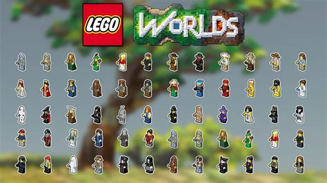 lego worlds tous les personnages youtube
