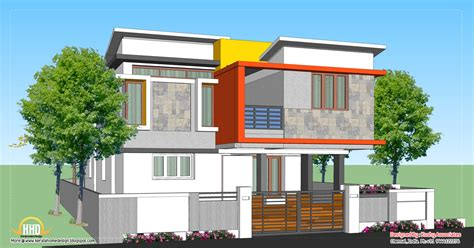 house plans contemporary modern home design 1809 sq ft kerala home design and floor plans