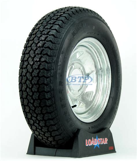 6 Lug Boat Trailer Tires by Boat Trailer Tire St225 75d15 On Galvanized Wheel 6 Lug By
