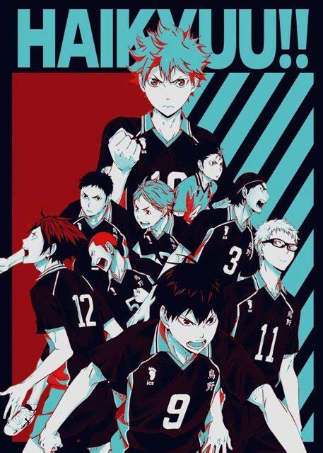 haikyu poster print  fujiwara displate