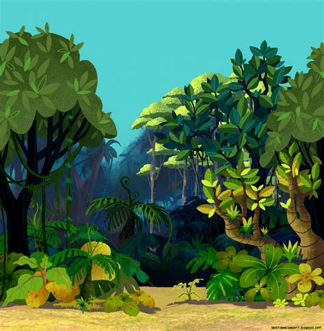Animated Jungle Wallpaper - animated jungle backgrounds best hd wallpapers