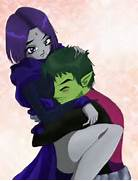 Raven Beast Boy by MagzO on DeviantArt  Beast Boy And Raven Have A Baby