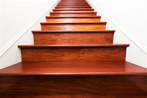 Stairs : Carpet To Wood Stair Makeover Reveal
