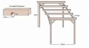 TerrassenUberdachung Holz Flachdach
