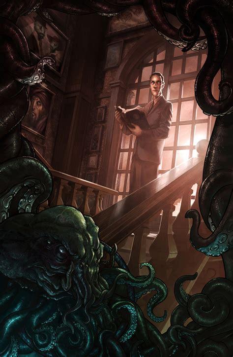 2D Art: HP Lovecraft - 2D Digital, Concept art, Digital