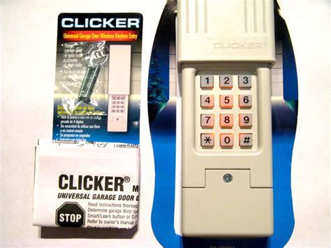 reprogram garage door keypad reset clicker garage door keypad ppi
