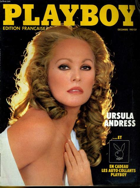 Playboy Edition Francaise N Ursula Andress Andre Henry Psychose A Atlanta Collectif