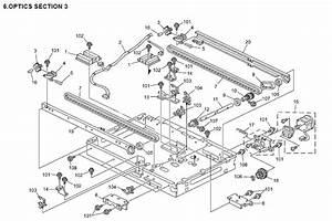 Ricoh Mp 1500 Parts List And Diagrams Manual