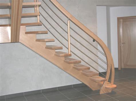 escalier bois sans contre marches limon central lamell 233 coll 233 escalier et mezzanine
