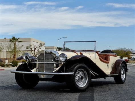 4.5 out of 5 stars. 1929 MERCEDES BENZ SSK REPLICA ROADSTER ONE OWNER SINCE NEW SELLING NO RESERVE for sale ...